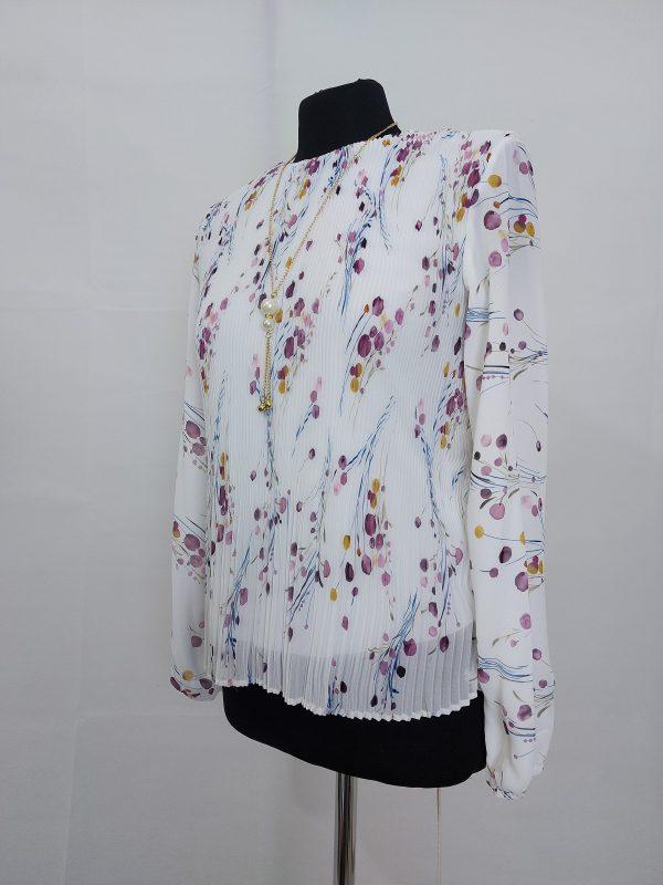 חולצת פליסה פירחונית